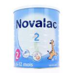 NOVALAC LAIT 2 BOITE 800G à Vélines