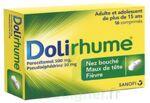 DOLIRHUME PARACETAMOL ET PSEUDOEPHEDRINE 500 mg/30 mg, comprimé à Vélines