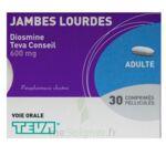 DIOSMINE TEVA CONSEIL 600 mg, comprimé pelliculé à Vélines