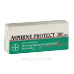 ASPIRINE PROTECT 300 mg, comprimé gastro-résistant à Vélines