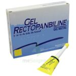 GEL RECTOPANBILINE, gel rectal à Vélines