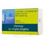 CYSTINE / VITAMINE B6 BIOGARAN CONSEIL 500 mg/50 mg, comprimé pelliculé à Vélines