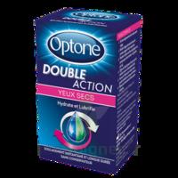 Optone Double Action Solution Oculaire Yeux Secs Fl/10ml à Vélines