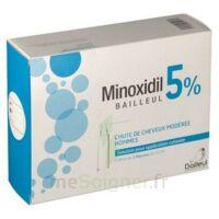 MINOXIDIL BAILLEUL 5 % Solution pour application cutanée 3 Fl/60ml à Vélines