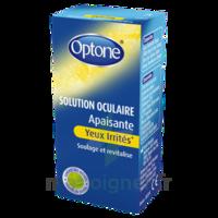 Optone Solution Oculaire Rafraîchissante Yeux Irrités Fl/10ml à Vélines