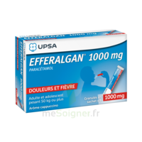 Efferalgan 1g Cappuccino granules 8 sachets à Vélines