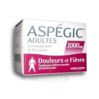 ASPEGIC ADULTES 1000 mg, poudre pour solution buvable en sachet-dose 20 à Vélines
