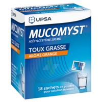 Mucomyst 200 Mg Poudre Pour Solution Buvable En Sachet B/18 à Vélines