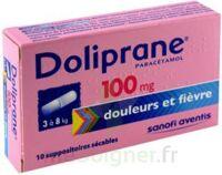 DOLIPRANE 100 mg Suppositoires sécables 2Plq/5 (10) à Vélines