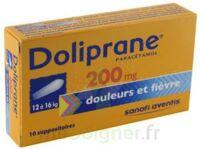 Doliprane 200 Mg Suppositoires 2plq/5 (10) à Vélines