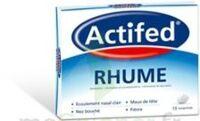 ACTIFED RHUME, comprimé à Vélines