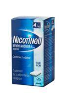 NICOTINELL MENTHE FRAICHEUR 4 mg SANS SUCRE, gomme à mâcher médicamenteuse 8Plq/12 à Vélines