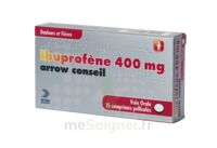IBUPROFENE ARROW CONSEIL 400 mg, comprimé pelliculé à Vélines
