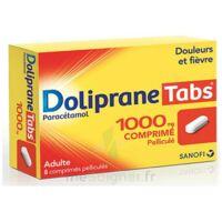 DOLIPRANETABS 1000 mg Comprimés pelliculés Plq/8 à Vélines