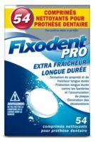 Fixodent Pro Comprimés Nettoyant Fraîcheur Longue Durée Pour Prothèse Dentaire B/54 à Vélines