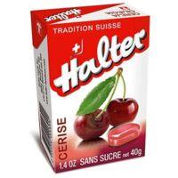 Bonbons sans sucre Halter cerise à Vélines