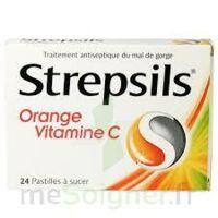 STREPSILS ORANGE VITAMINE C, pastille à Vélines