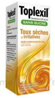 Toplexil 0,33 Mg/ml Sans Sucre Solution Buvable 150ml à Vélines