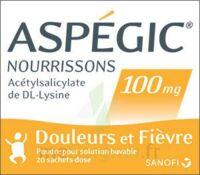 ASPEGIC NOURRISSONS 100 mg, poudre pour solution buvable en sachet-dose à Vélines