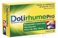 DOLIRHUMEPRO PARACETAMOL, PSEUDOEPHEDRINE ET DOXYLAMINE, comprimé à Vélines