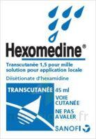 HEXOMEDINE TRANSCUTANEE 1,5 POUR MILLE, solution pour application locale à Vélines