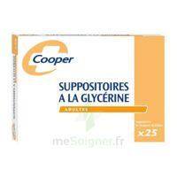 SUPPOSITOIRES A LA GLYCERINE COOPER Suppos en récipient multidose adulte Sach/25 à Vélines