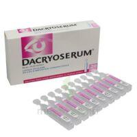 Dacryoserum Solution Pour Lavage Ophtalmique En Récipient Unidose 20unidoses/5ml à Vélines