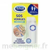 Scholl SOS Verrues traitement pieds et mains à Vélines