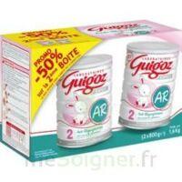 GUIGOZ LAIT EXPERT AR2 LOT DE 2X800GR à Vélines