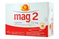 MAG 2 SANS SUCRE 122 mg, solution buvable en ampoule édulcoré à la saccharine sodique à Vélines