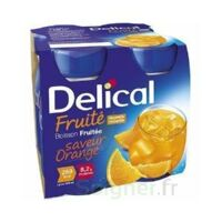 DELICAL BOISSON FRUITEE Nutriment orange 4Bouteilles/200ml à Vélines