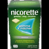 NICORETTE 2 mg Gom à mâcher médic sans sucre menthe fraîche Plq/105gom à Vélines