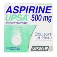 ASPIRINE UPSA 500 mg, comprimé effervescent à Vélines