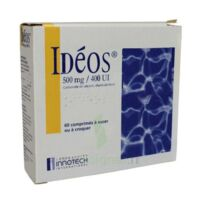 IDEOS 500 mg/400 UI, comprimé à sucer ou à croquer à Vélines