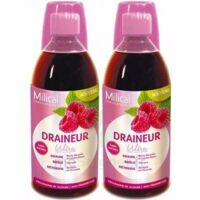 MILICAL DRAINEUR ULTRA Solution buvable framboise 2*500ml à Vélines