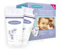 LANSINOH Sachets de Conservation pour Lait Maternel - 25 sachets à Vélines