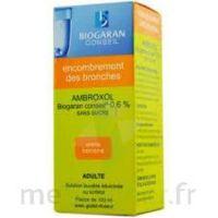 AMBROXOL BIOGARAN CONSEIL 0,6 % Solution buvable sans sucre édulcorée au sorbitol Fl/100ml+godet à Vélines