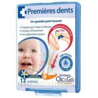 CLIC&GO Solution poussée dentaire bébé 12 Unidoses à Vélines