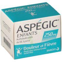 ASPEGIC ENFANTS 250, poudre pour solution buvable en sachet-dose à Vélines