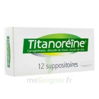 TITANOREINE Suppositoires B/12 à Vélines
