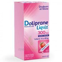 Dolipraneliquiz 300 mg Suspension buvable en sachet sans sucre édulcorée au maltitol liquide et au sorbitol B/12 à Vélines