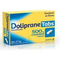DOLIPRANETABS 500 mg Comprimés pelliculés Plq/16 à Vélines