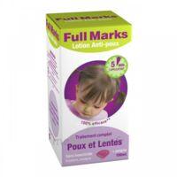 Full Marks Lotion antipoux et lentes 100ml+peigne à Vélines