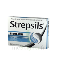Strepsils lidocaïne Pastilles Plq/24 à Vélines