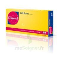 Oligosol Lithium Solution Buvable En Ampoule Ou En Récipient Unidose 28amp/2ml à Vélines