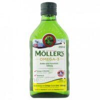 Mollers Huile de foie de morue Solution buvable citron 250ml