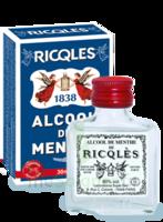 Ricqles 80° Alcool de menthe 30ml à Vélines