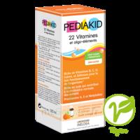 Pédiakid 22 Vitamines et Oligo-Eléments Sirop abricot orange 125ml à Vélines
