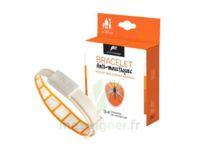 Pharmavoyage Bracelet répulsif origine végétale anti-moustique orange à Vélines