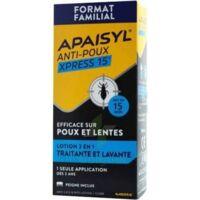 Apaisyl Anti-poux Xpress Lotion antipoux et lente 300ml à Vélines